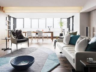 现代简约舒适沙发装修效果图