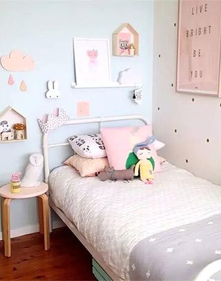 可爱儿童房卧室装修