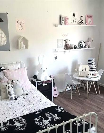 北欧风格儿童房装饰