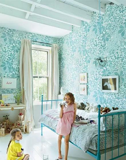 田园风格儿童房装修装潢
