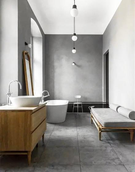 温情工业风格卫生间浴室柜