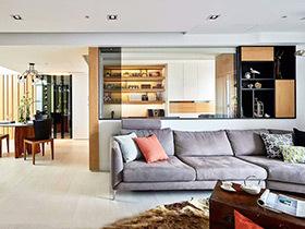 光感加分 132平现代简约风格老房改造装修
