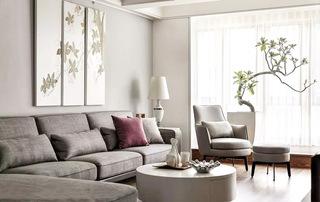 122平现代简约风格客厅沙发图片