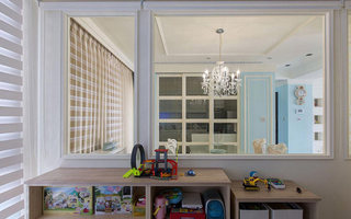 140平米儿童游戏室窗户效果图