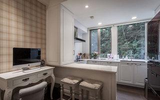 35平小户型客厅阳台改厨房吧台设计
