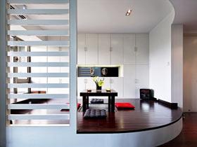 170平现代简约风格装修 极致黑白现代风
