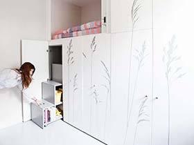 8平米单身公寓效果图  精品蜗居