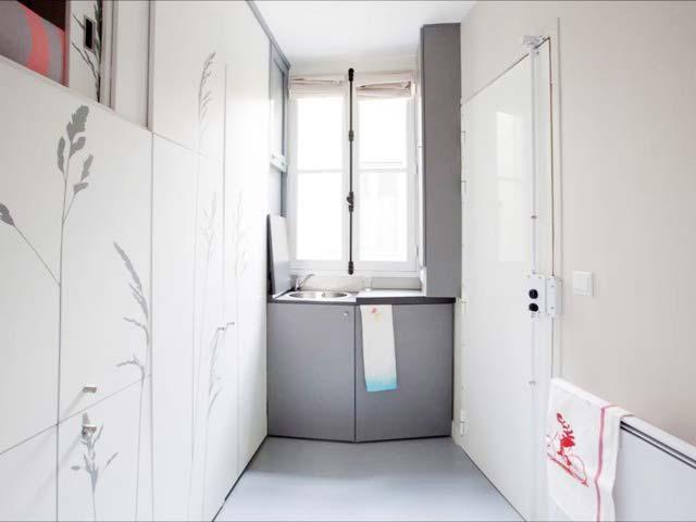 8平米单身公寓厨房图