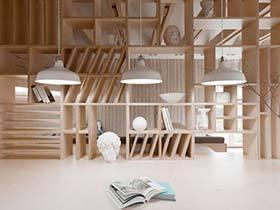 60平单身公寓布置效果图  木色的世界