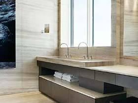 空间不大也要美美哒  10款卫生间装修设计图片