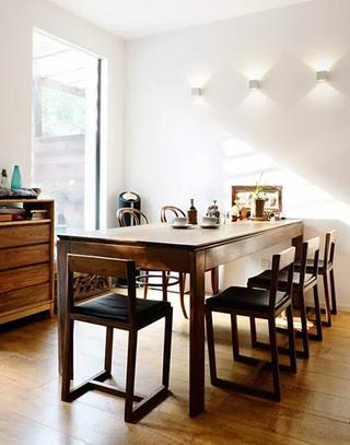 简中式餐厅实木家居装修设计