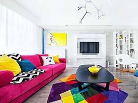 80平一居室装修实景图  潘多拉的调色盘