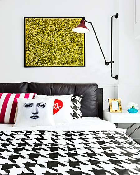 一居室卧室地板效果图