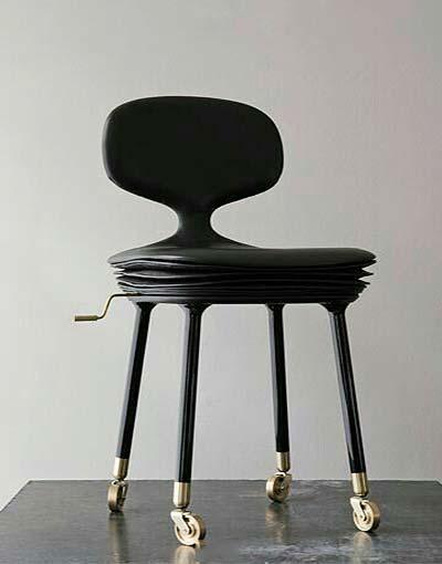创意椅子装修实景图