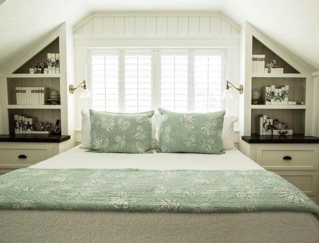阁楼卧室收纳设计图片