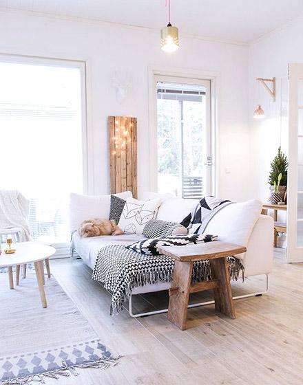 舒适简约客厅沙发效果图