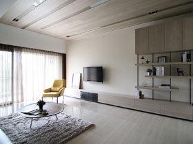 50平一居室小户型装修图 将简约进行到底
