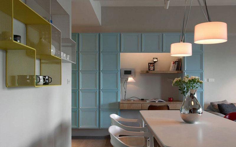 60平小户型餐厅装修设计