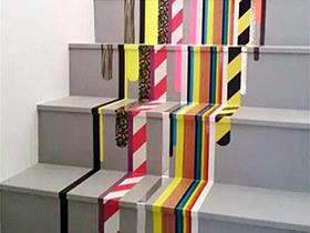 家里瞬间高大上 10个多彩楼梯装修效果图