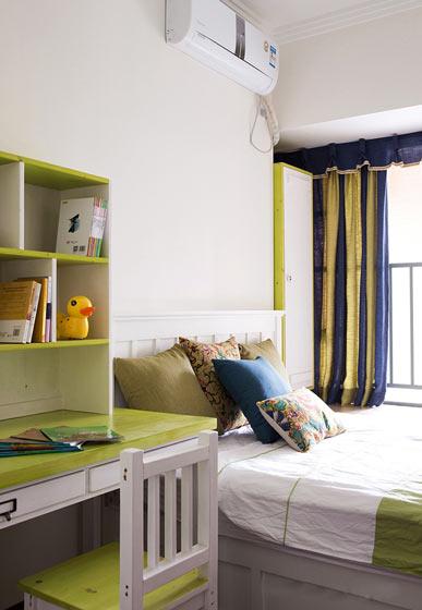 140㎡新中式卧室设计装修效果图