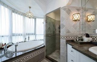 时尚优雅美式卫生间设计