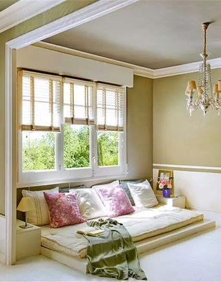 舒适地台床装潢设计图