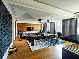 148平米单身公寓装修效果图  简单的气息