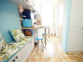 40平地中海风格装修 小房子也有春天
