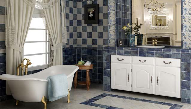 卫生间实景瓷砖贴图