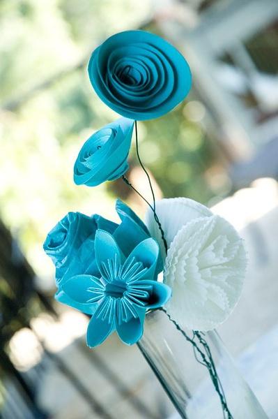 ,纸花的剪法,折纸花的花语,手工纸花制作方法 齐家网
