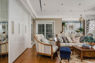 158平欧式古典风格客厅吊顶设计图