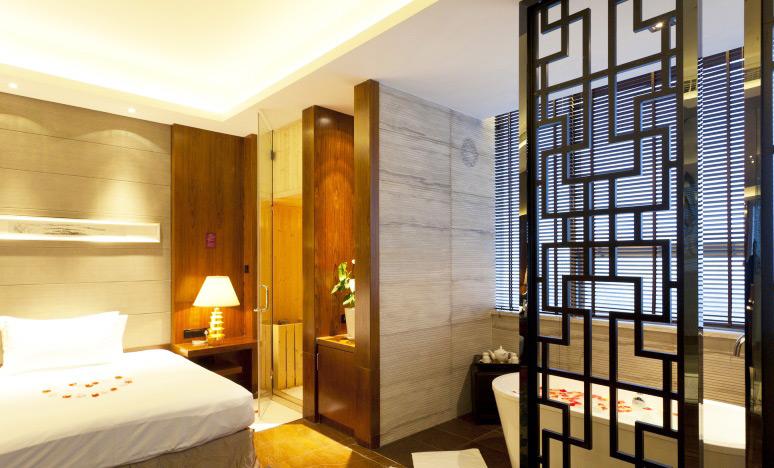 新中式风格酒店装修效果图