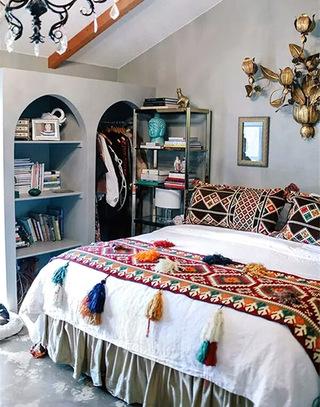 波西米亚风情卧室装潢装饰
