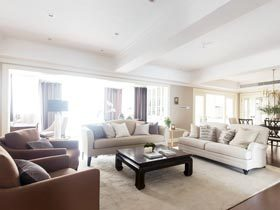 200平米装修四房装修效果图 阳光美居