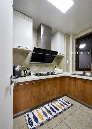 89平现代北欧厨房设计效果图