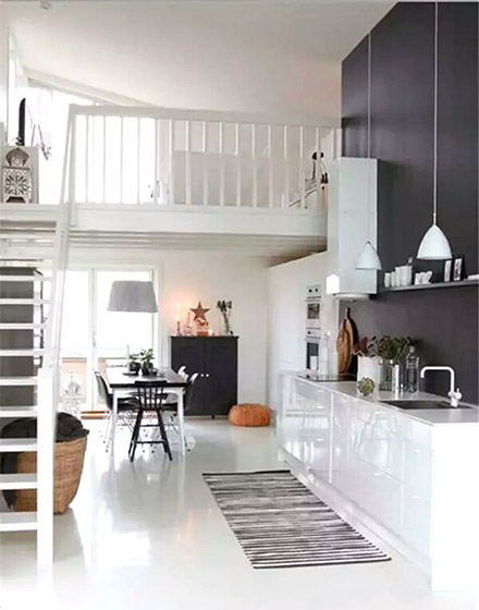清爽小户型现代公寓装修设计