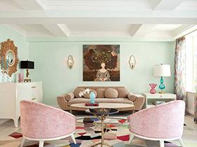 美女最爱的客厅长啥样 10个唯美客厅装修设计