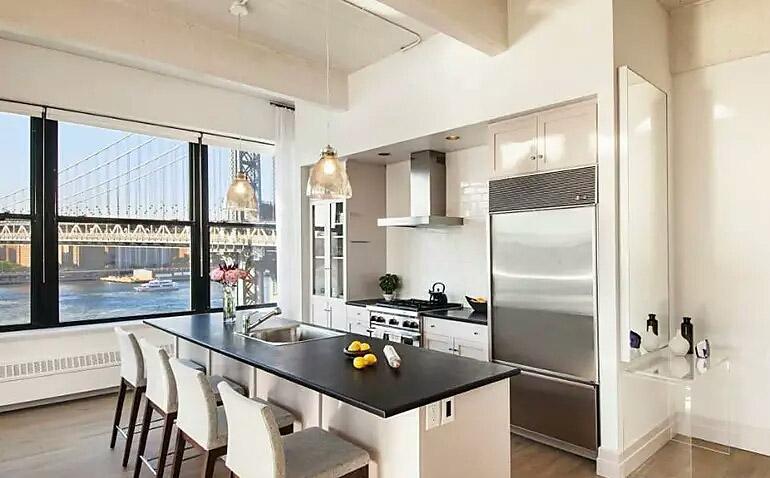 现代简约开放式厨房设计