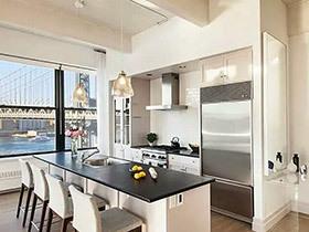 开启厨房社交新模式 12个开放式厨房装修