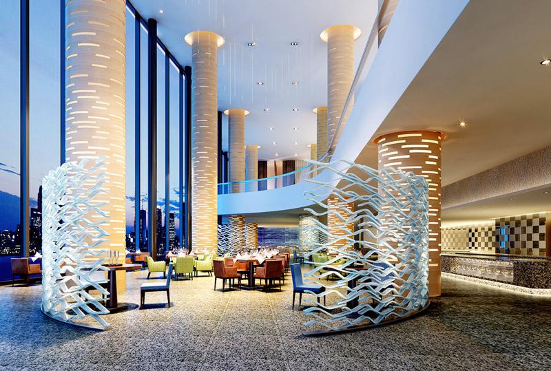时尚酒店大厅装修效果图