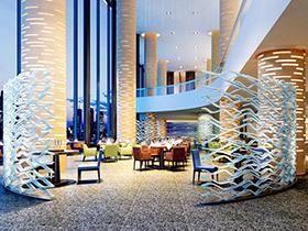 时尚酒店大厅装饰效果图