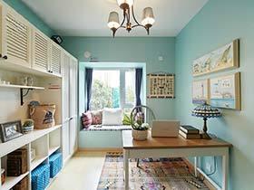 蓝色海洋般的公寓设计  看一眼就有幸福感