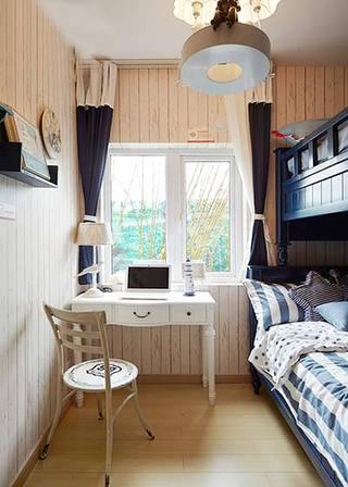清爽宜家地中海风情儿童房设计
