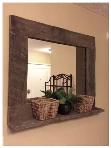木质窗框装修效果图