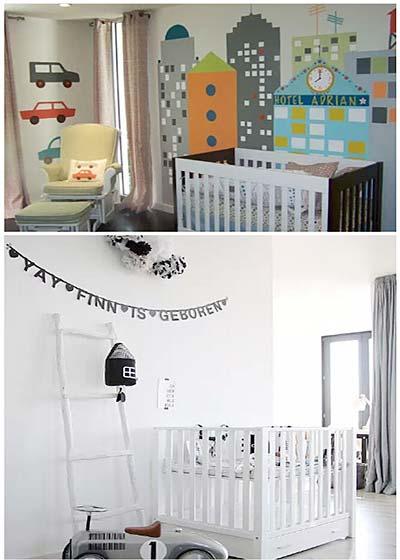 婴儿房实景构造图