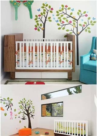 婴儿房布置装修图