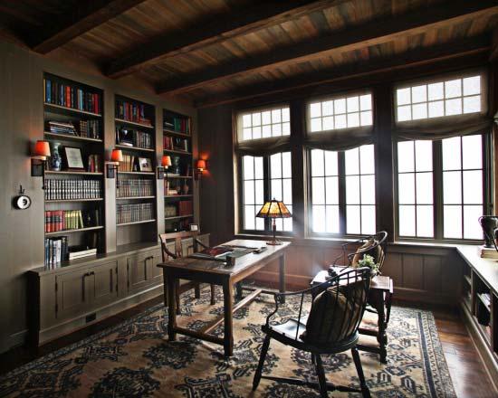 书房收纳构造图大全