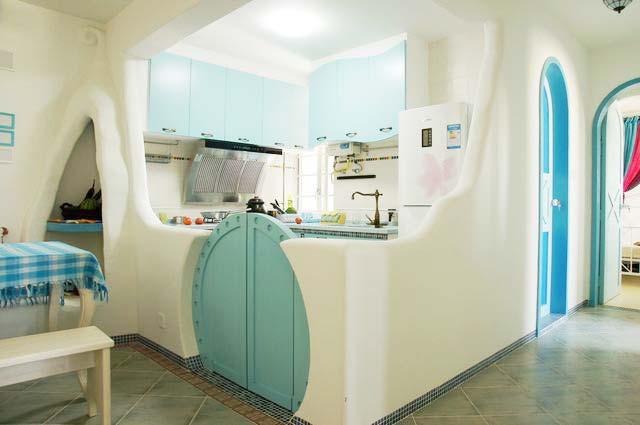 地中海厨房装饰图片大全