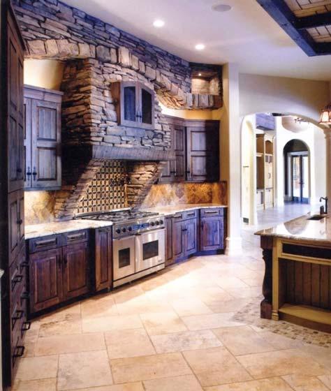 地中海厨房设计平面图