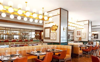 多伦多四季酒店餐厅吊灯效果图